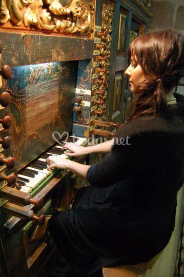 En el órgano de Pedroso