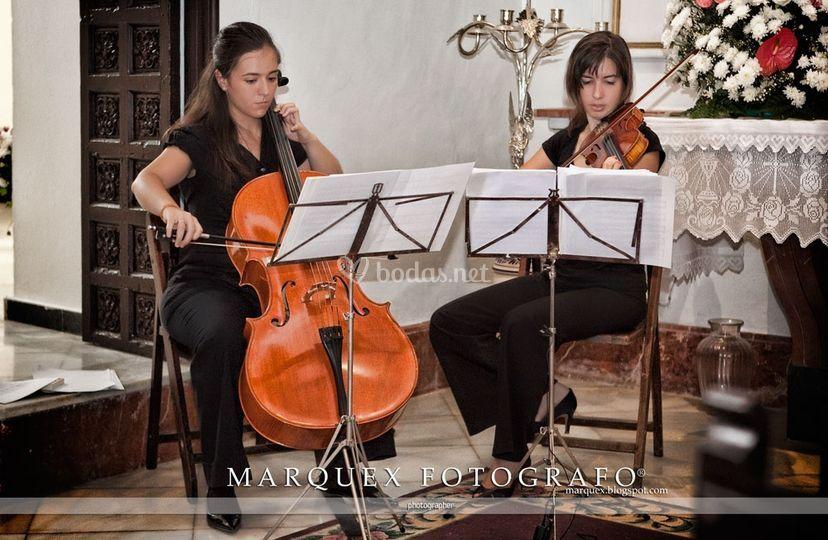 Dúo violín violoncello