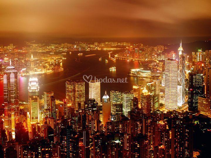 Luna de miel en Hong Kong