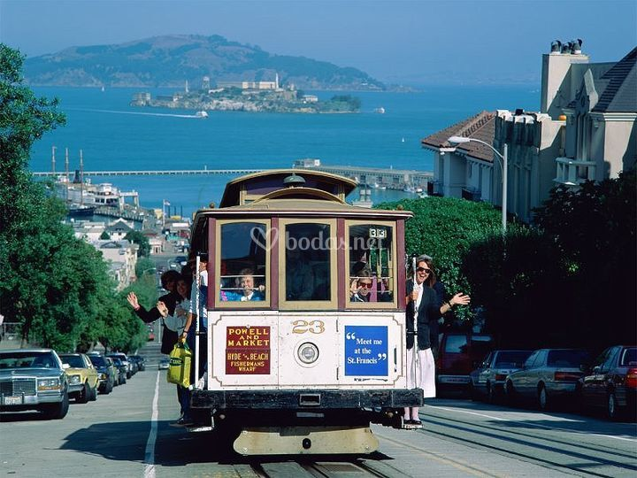Viaje de novios a San Francisco