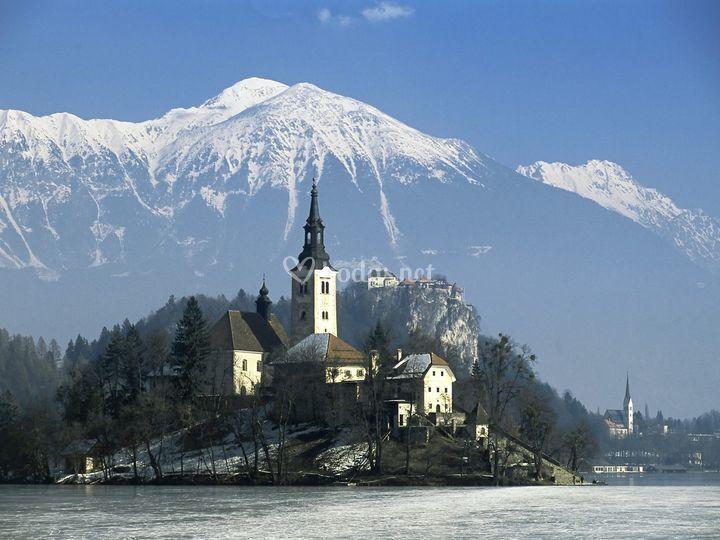 Destinos de boda en Eslovenia