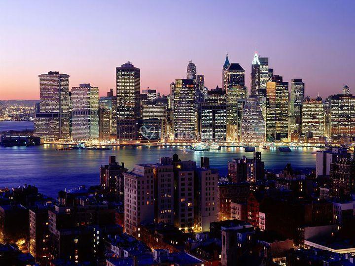 Novios en Nueva York