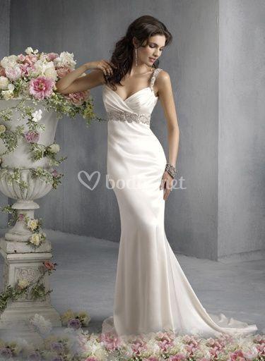 Vestidos destacados para la esposa más actual