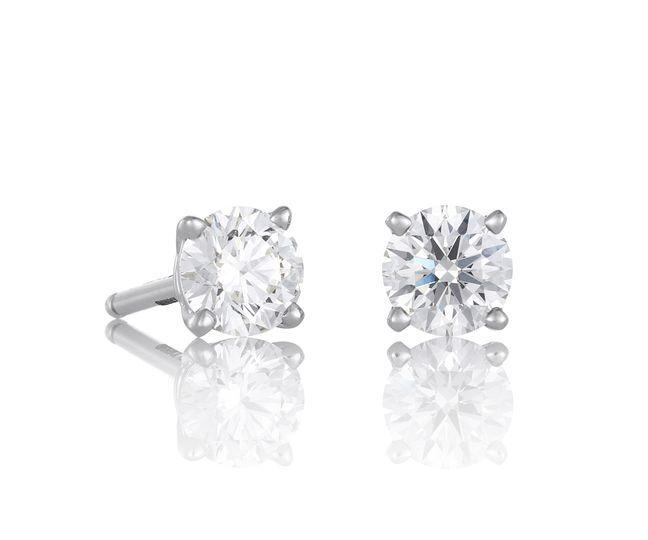 Pendientes diamantes