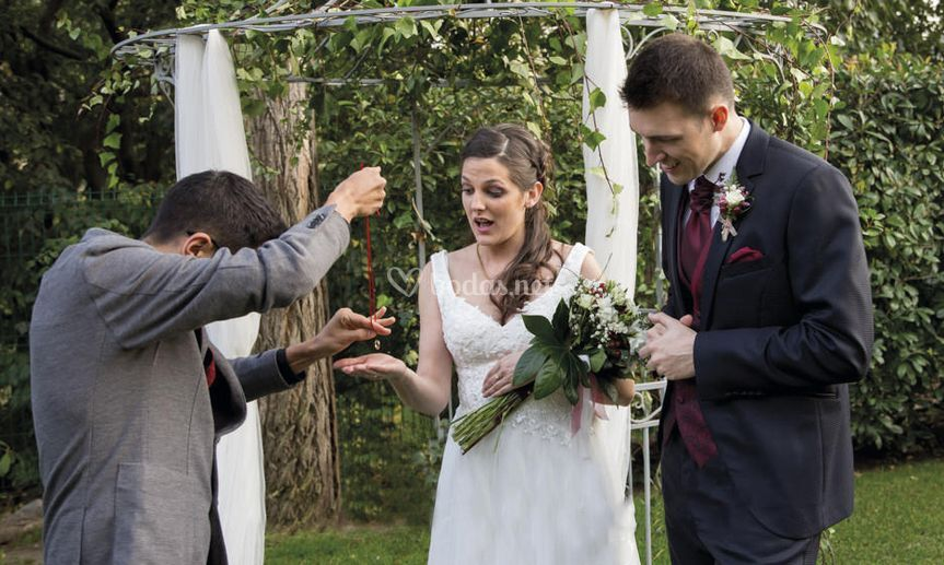 Magia en boda