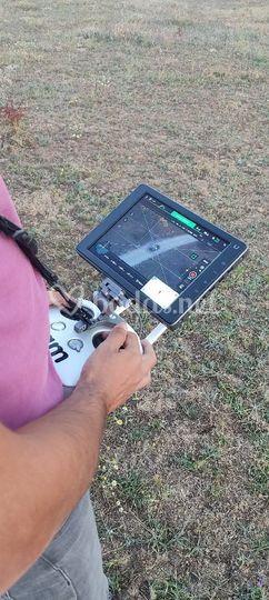 Tomas con dron