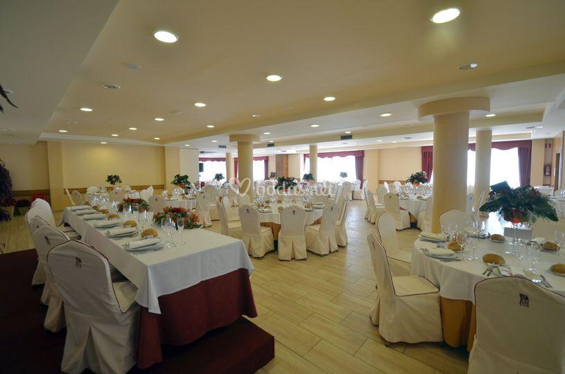 Gran salón para bodas