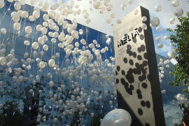 Sueltas de globos