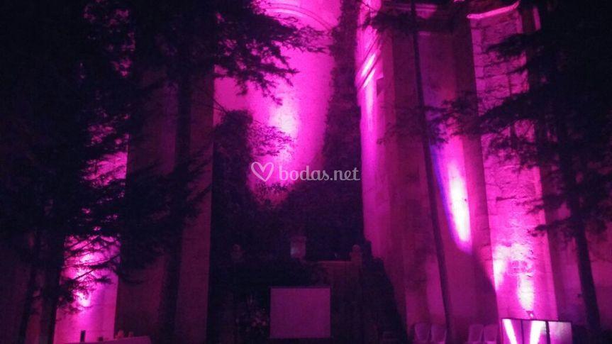Iluminación ambiental Edificio