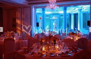 Ambientación LED Hotel Palace