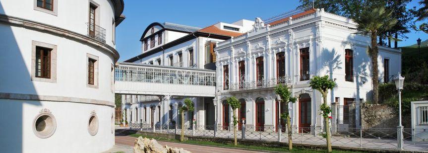Fachada de Las Caldas Villa Termal