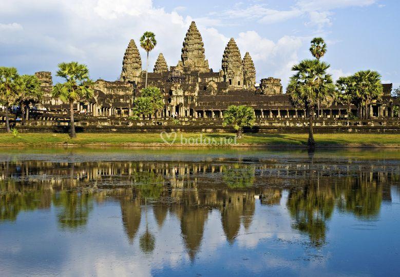 Templo de Angkor, Siem Reap, Camboya