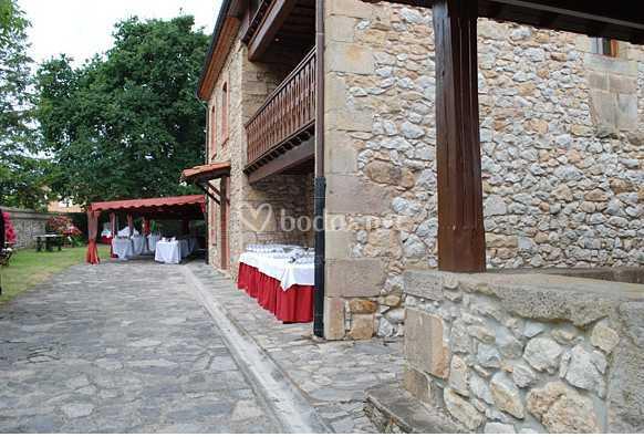 Catering en ermita