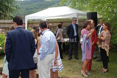 Catering en boda