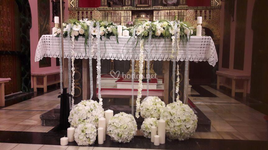 Arreglos para el altar