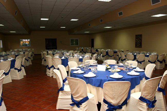 Amplios salones de Aviles y Hormigo Catering