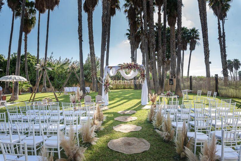 Ceremonia civil zona garden