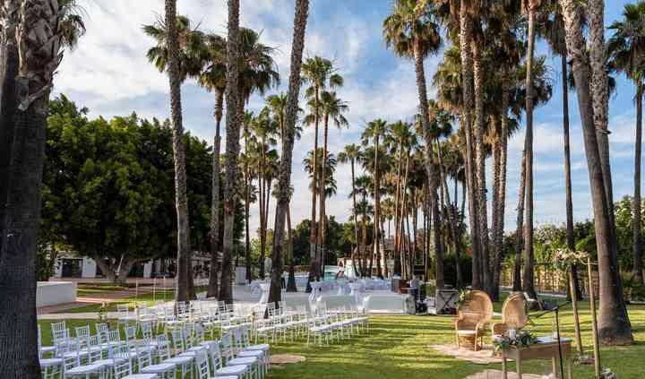 Ceremonia civil zona jardín
