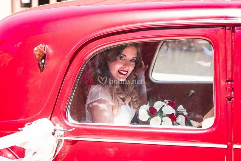 Llegada de novia