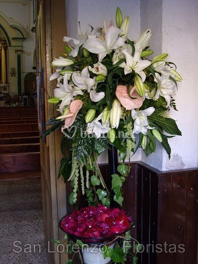 Floristería para vuestra ceremonia