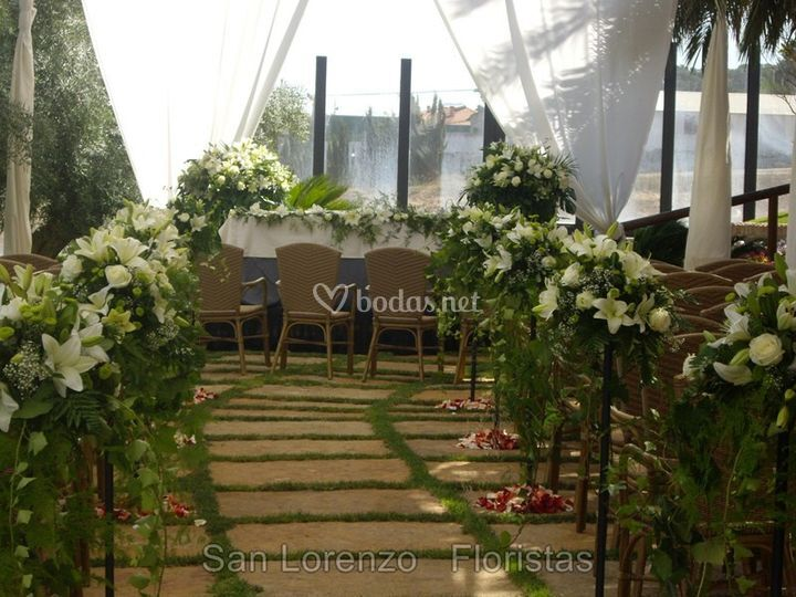 Arreglos para bodas civiles