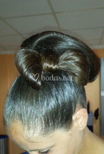 Lazo de pelo