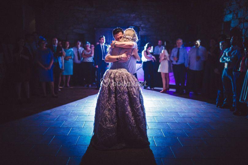 Baile novios de Danny Goiri