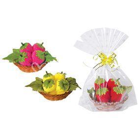 Toallas dulces fresas
