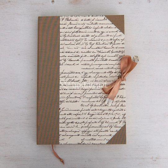 Libro firmas caligrafía clasic