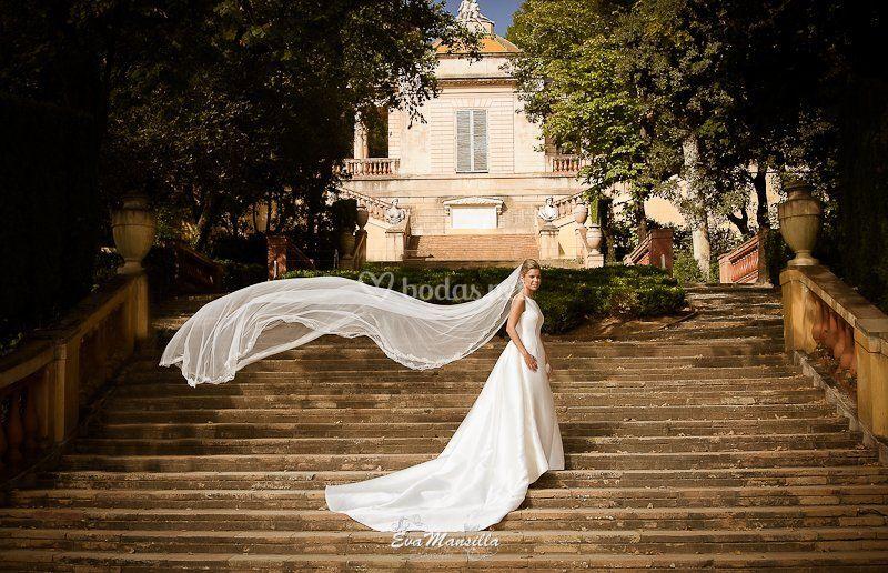 Laberinto D´horta fotos boda
