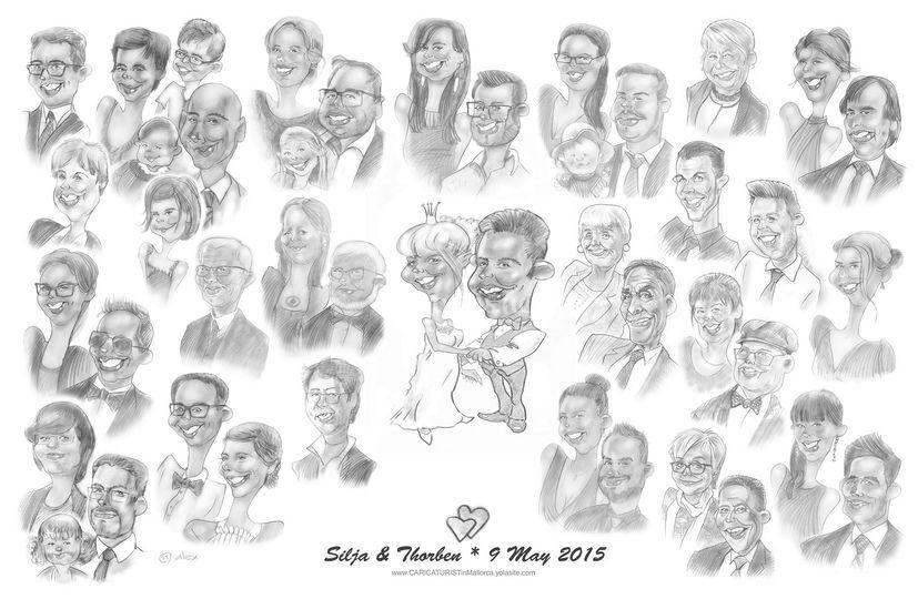 Todos en un dibujo