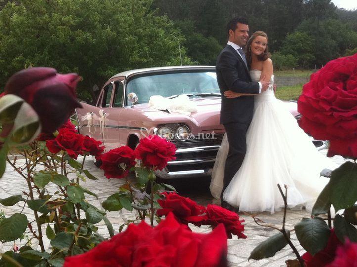 Cadillac rosa desoto