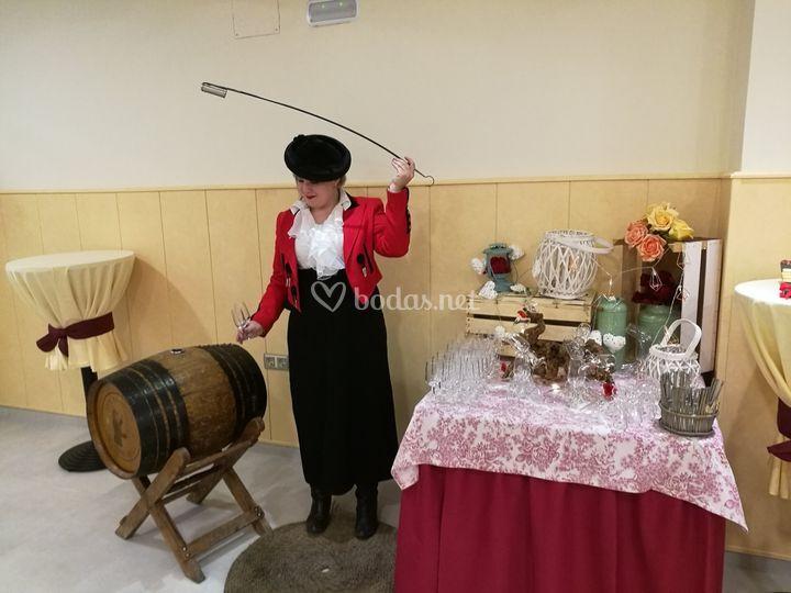 Venenciadora de vino