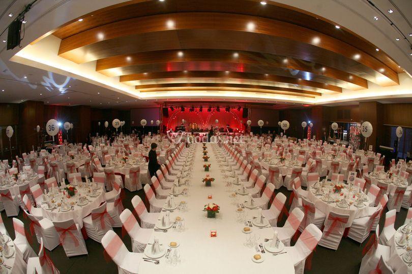 Mesa imperial gala