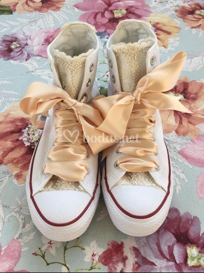 Zapatillas deportivas novias