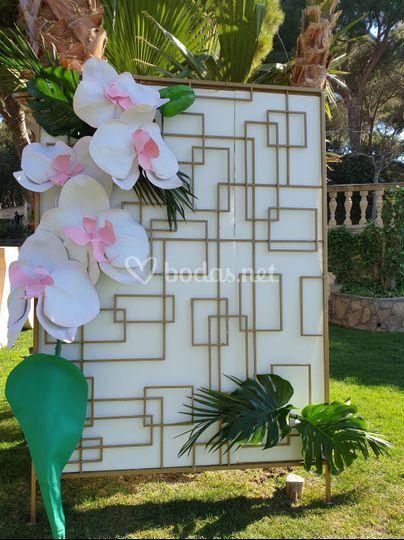 Orquídia gigante 2,5m