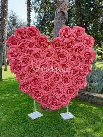 Corazón de amor 2x2