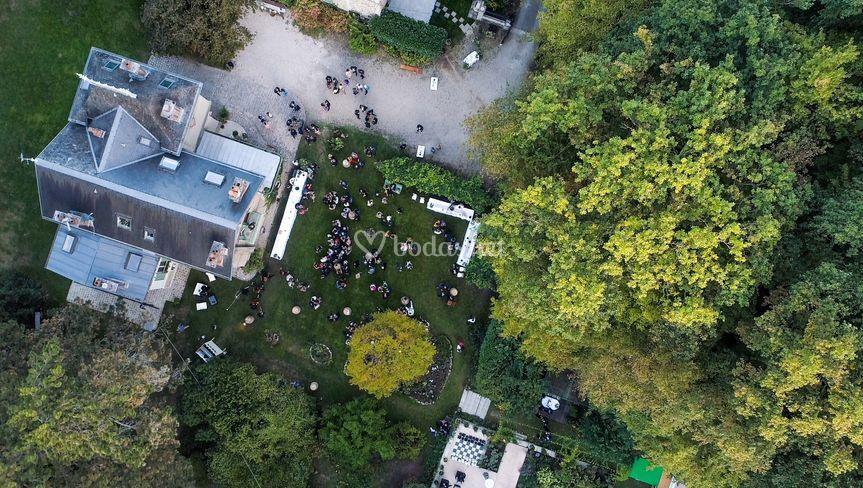 Dron - boda en París