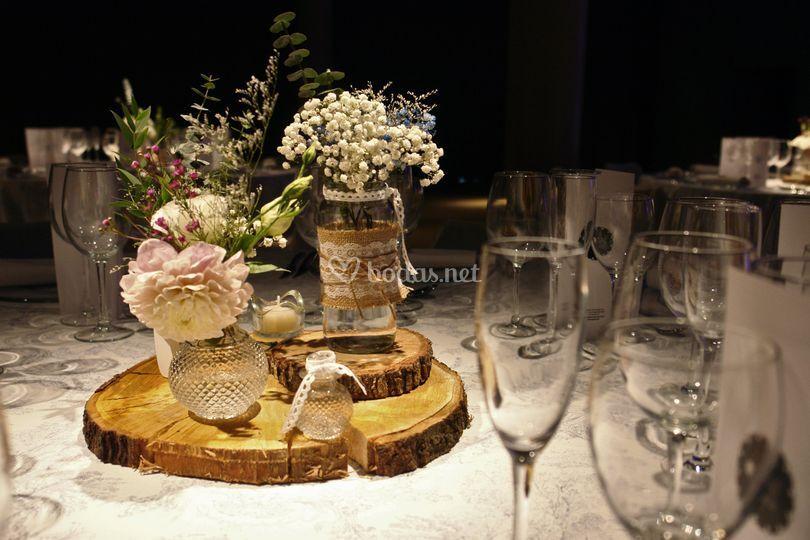 Propuesta decoración mesa