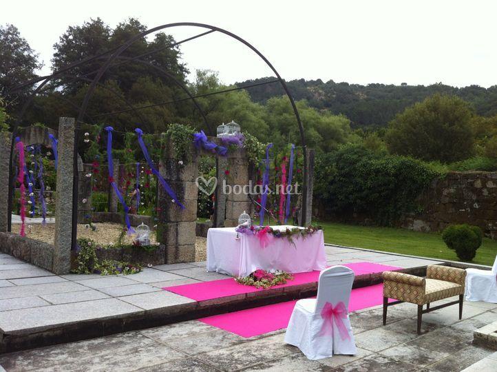 Ceremonia Civil Jardín Trasero