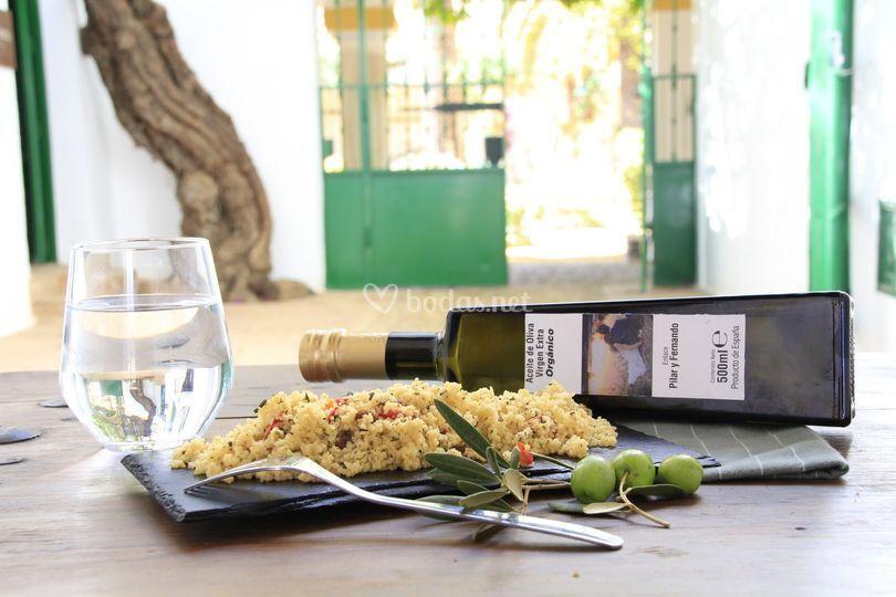Aceite de oliva DIY