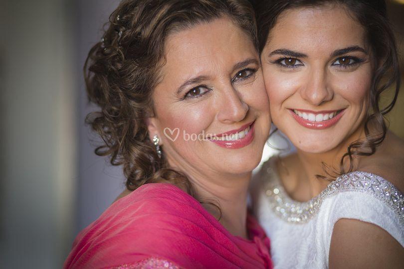 Mamá y novia