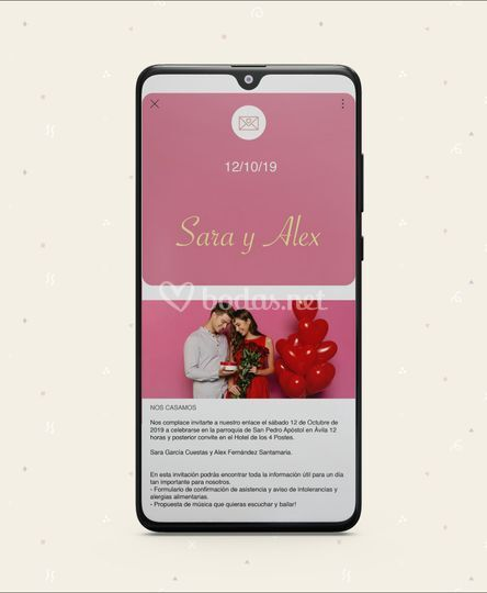 Vista dispositivo Android
