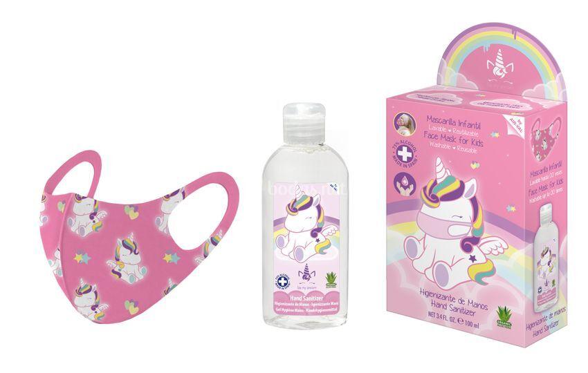 Kit de mascarilla higiénica reutilizable
