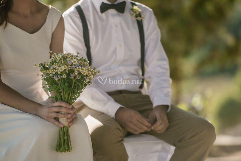Ramo de flores de novia