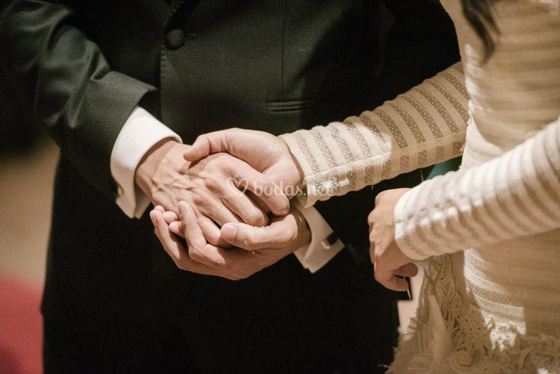 Ceremonia de bodas religiosa