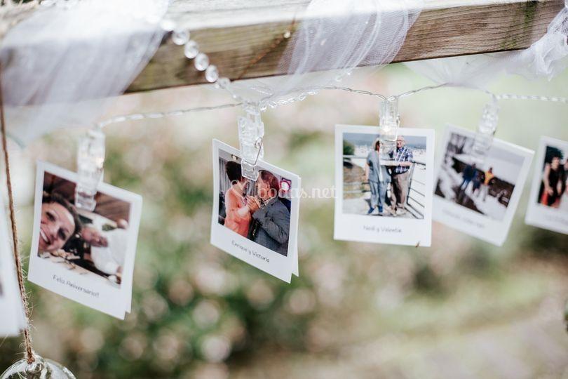 Decoración con fotos