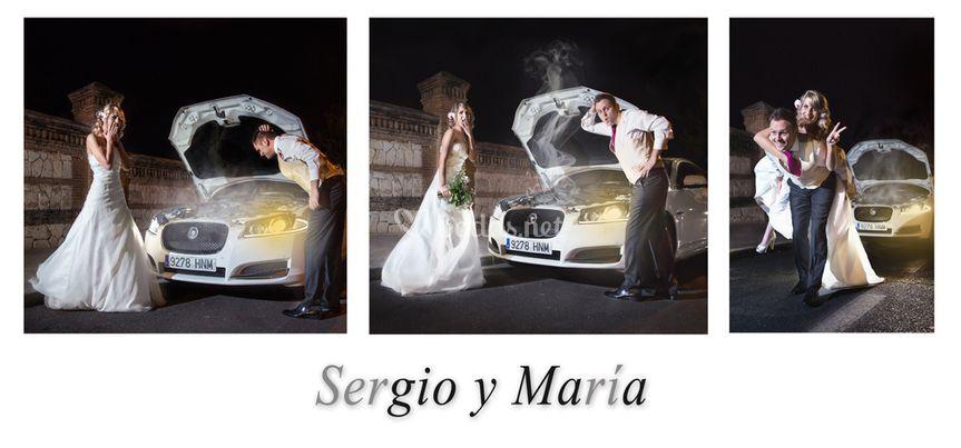 Sergio y María