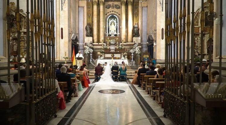 Grabación ceremonia