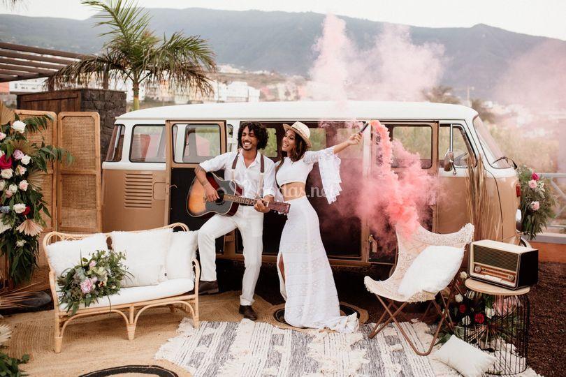 Boda Boho - Licandro Weddings